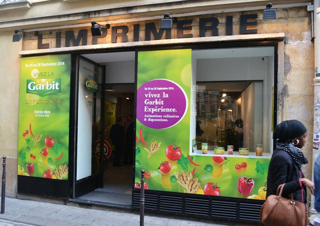 Aménagement pop up store événementiel Paris