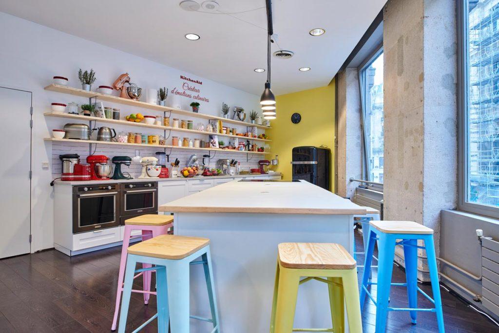 Aménagement cuisine événementielle pop up store