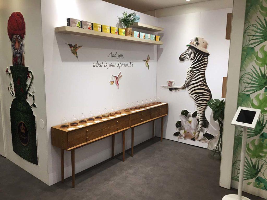 Aménagement boutique éphémère Special T Paris