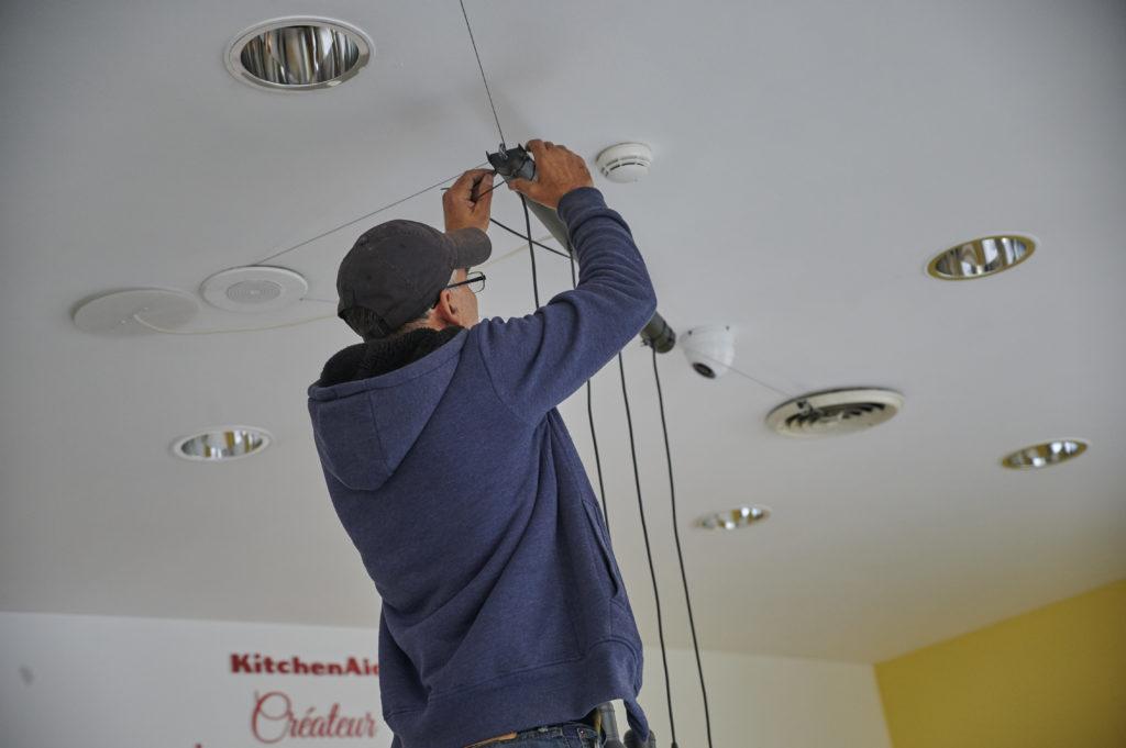 Installer électricité pop up store éphémère