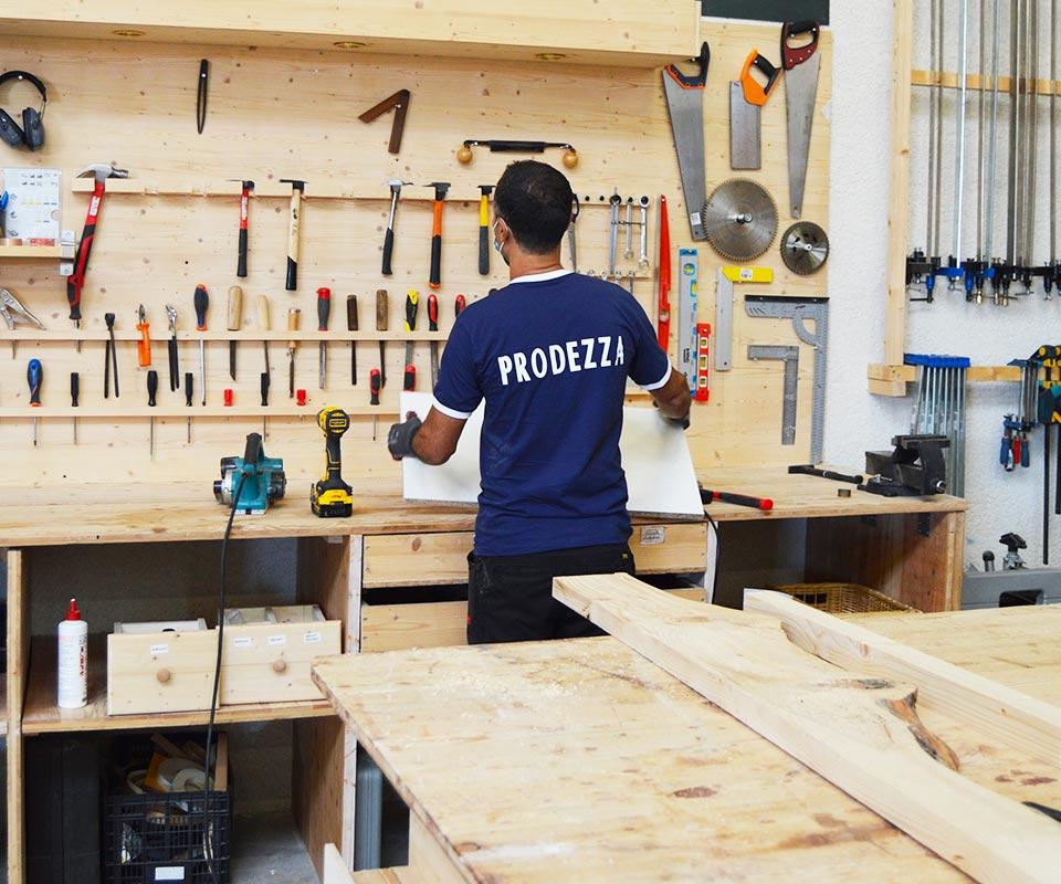 Prodezza atelier de menuiserie événementielle Lyon
