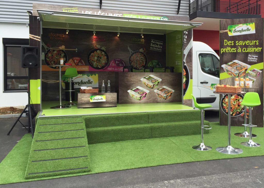Foodtruck - transport, aménagement et installation