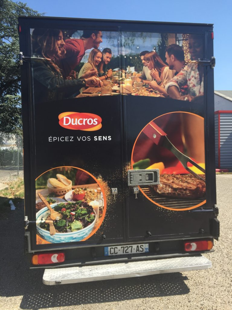 Entreprise location foodtruck roadshow