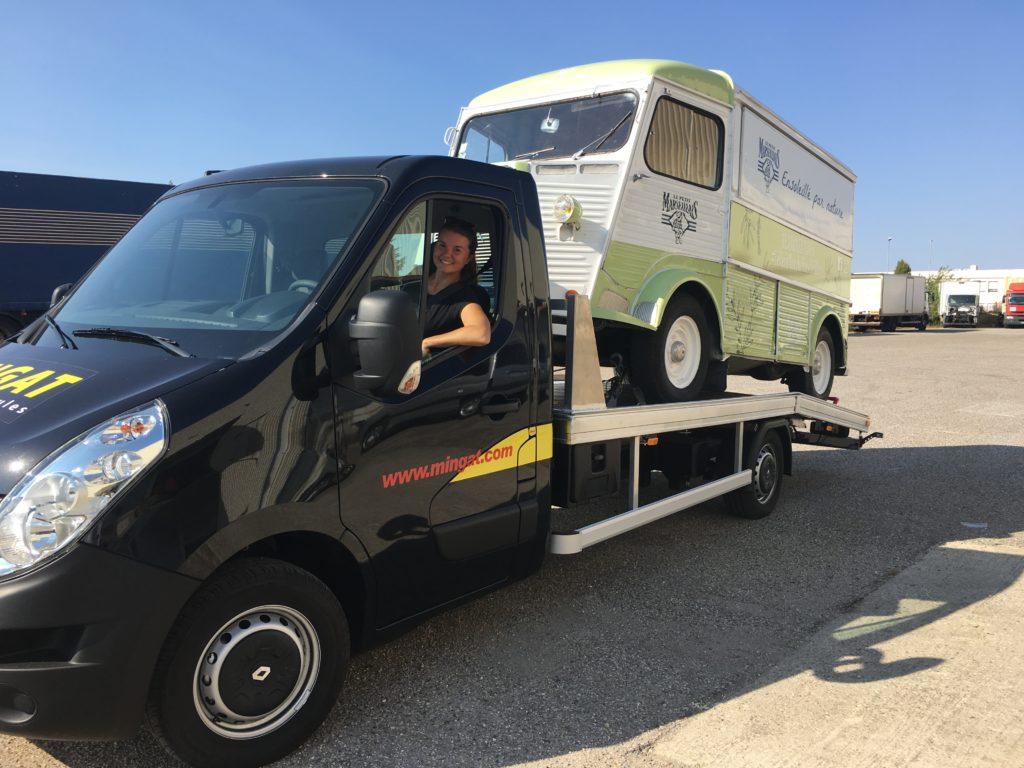 Entreprise transport et location véhicule roadshow