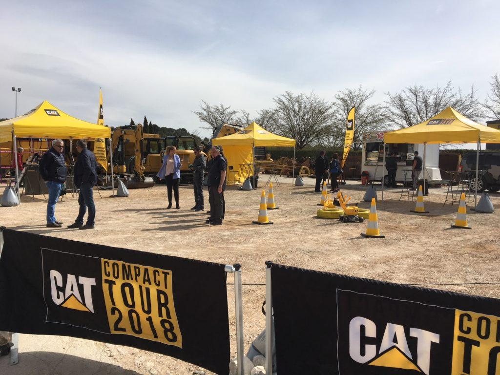 Location tentes et matériel pour roadshow BtoB