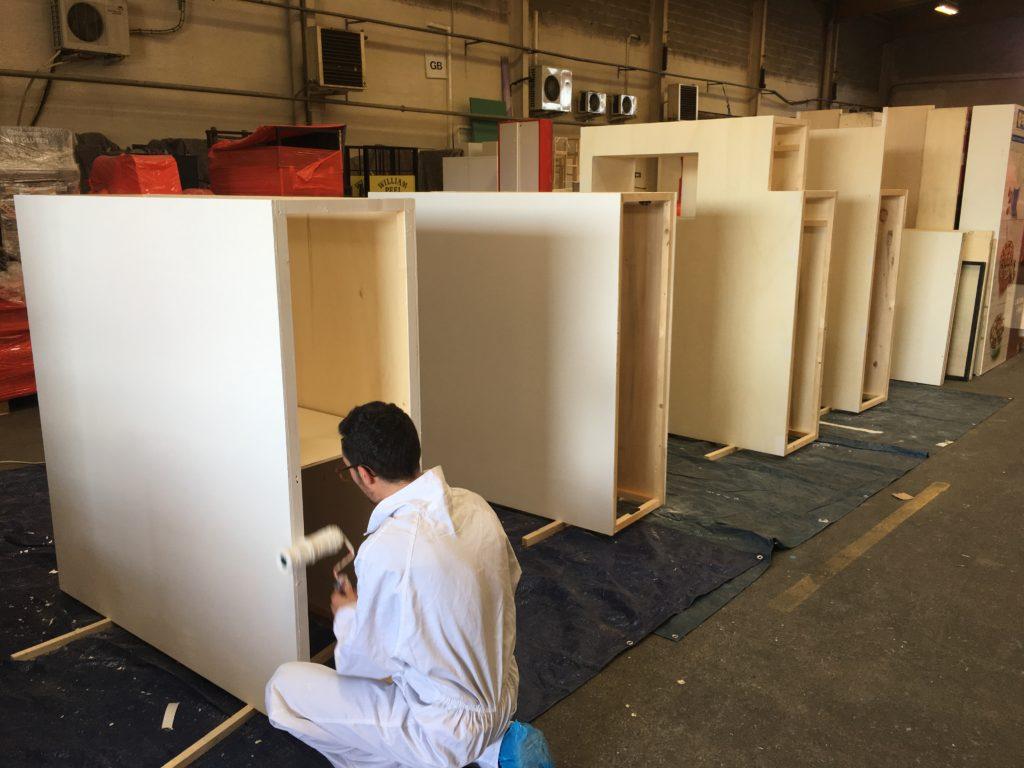 Atelier de fabrication de mobilier événementiel