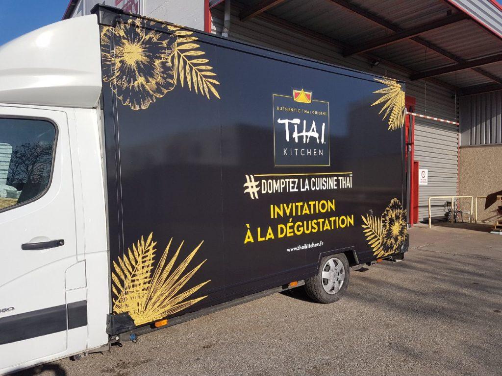 Covering camion tournée événementielle