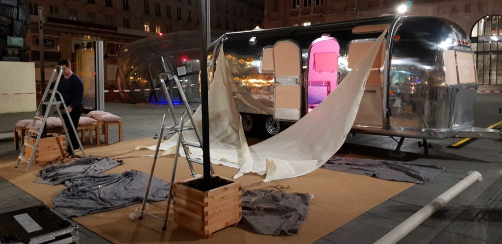 Prestataire montage evenement outdoor